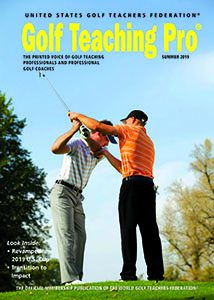 2019 Summer Golf Teaching Pro front cover